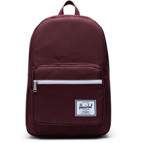 Herschel Pop Quiz Rugzak, plum dot check